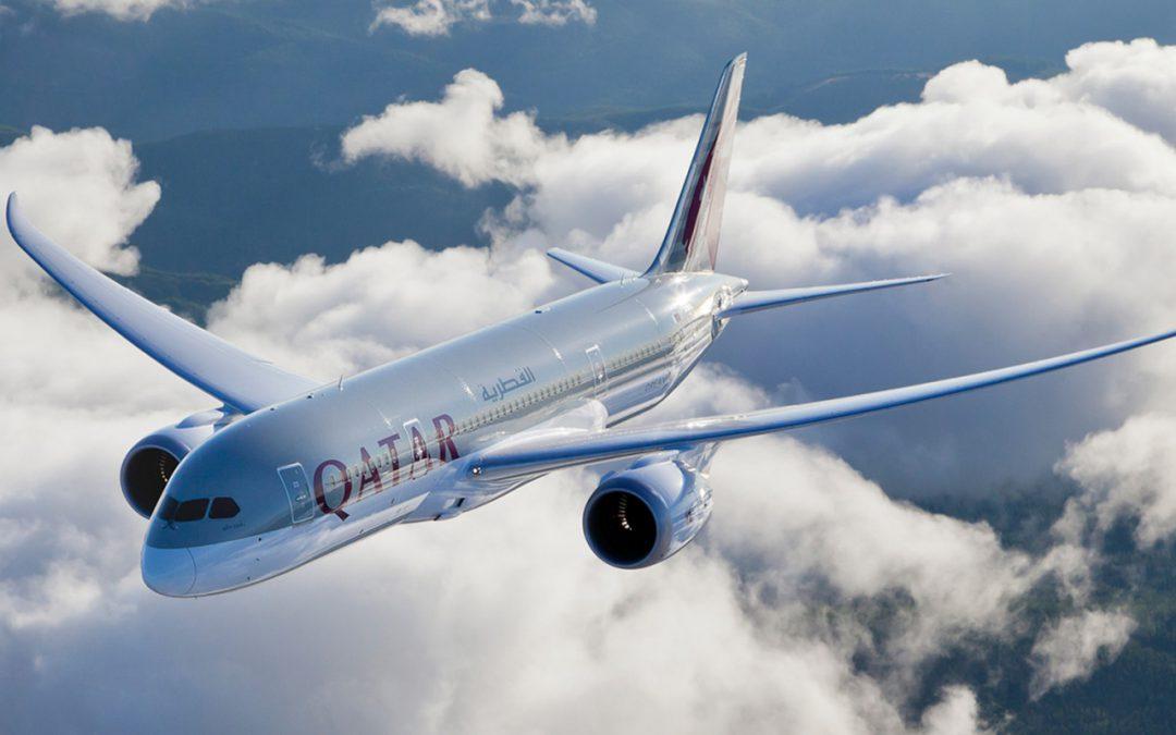 Qatar Airways en Dreamliner à Genève
