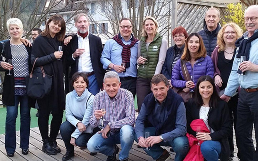 Week-end de l'équipe Delta Voyages à Chamonix