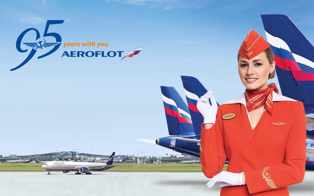 Les détails d'un voyage selon la classe Affaires d'Aeroflot