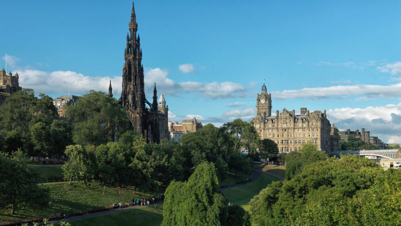 THE BALMORAL – EDINBURGH