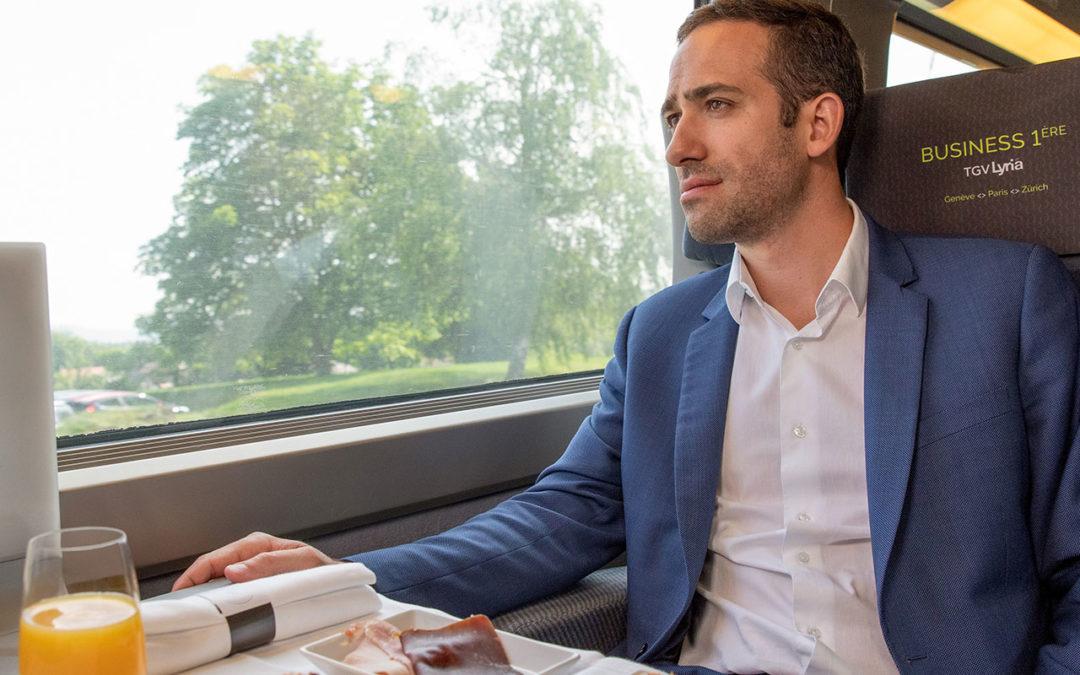 TGV Lyria – Bienvenue en BUSINESS 1ère pour un voyage sur-mesure