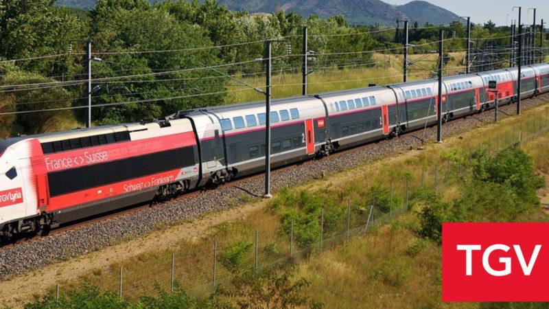 Les évolutions TGV Lyria 2019 / 2020 à partir du 15 décembre 2019