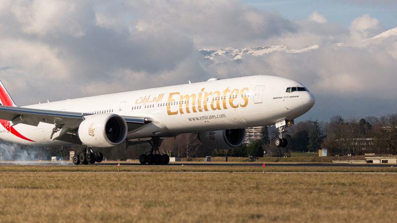 Nouvelle action tarifaire d'Emirates au départ de Genève