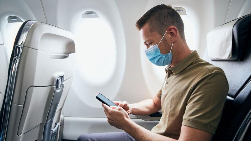 Masque obligatoire à bord des avions