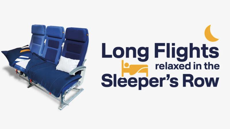 Lufthansa lance sa rangée couchette